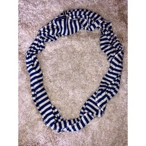 Blue/White American Eagle Infinity Scarf